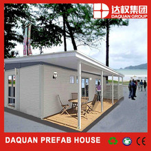 small modified container house with balcony and veranda