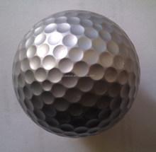2layer high quality silver golf balls,colored golf ball,golden golf balls