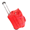 New rolling duffle bag carry on luggage travel bag