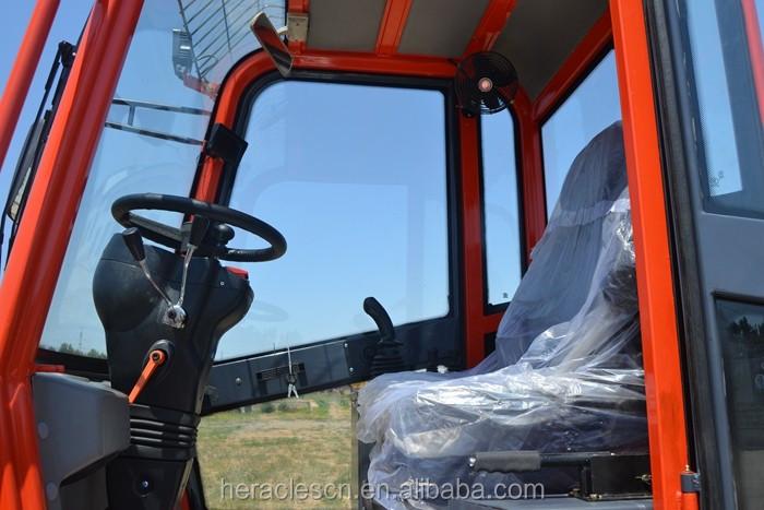 China fabricante forneceu loader TL1500 PÁ mini telescópica