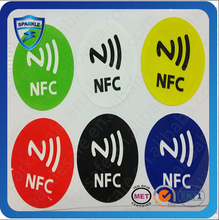 13.56MHz HF RFID Tag Sticker for Library, anti-interference