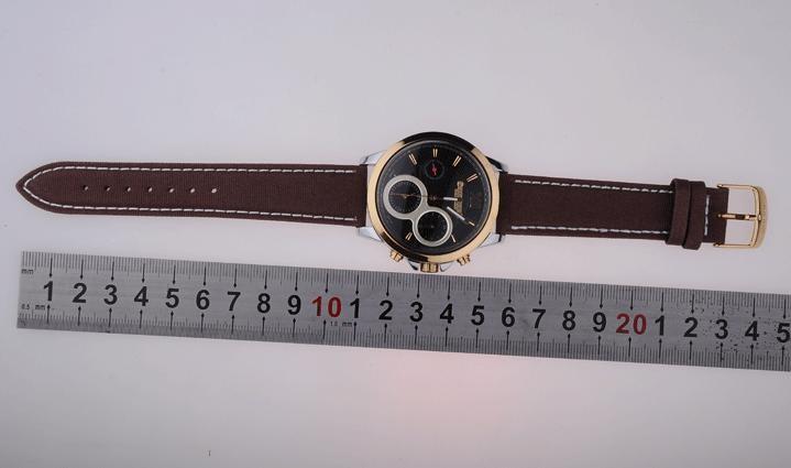 Men's Homme Wrist Watch Quartz Hours Best Fashion Dress Korea Bracelet Fabric Band Clock Gift Julius JAH055