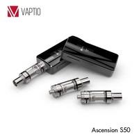 Greece electronic cigarette Ascension S50 e cig box mod 50w temperature control vapor mod the mod electronic cigarettes