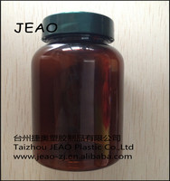 2015 New 160CC/160Ml PET Amber Plastic Medical Bottle /Health Care Bottle From China JEAO
