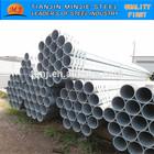 galvanizado a quente de tubos de aço