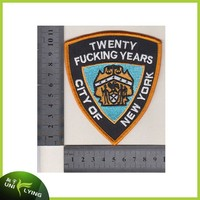 City of New York souvenir embroidered patches