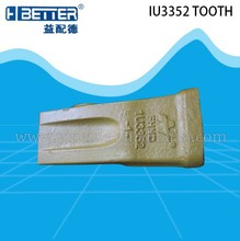 1U3352-1 JS205LC Excavator Bucket Tiger Teeth