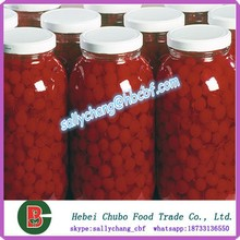canned cherry (maraschino cherry) in syrup