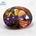 Comercio al por mayor de las piedras preciosas sin cortar piedra preciosa sintética