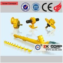 Stainless steel shaftless screw conveyor for material handing equipment