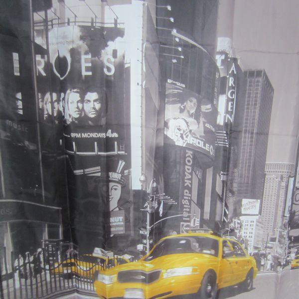 2 015 nouveau design pleine page new york voiture rideaux de douche polyester tissu rideau de. Black Bedroom Furniture Sets. Home Design Ideas