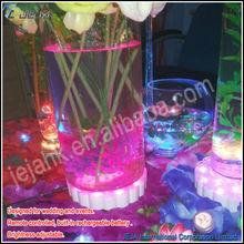 acrylic cylinder vases Shenzhen JEJA led modern vases