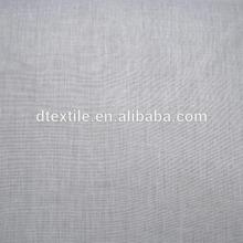 100% de poliéster de color gris apagón cortina de tela para la ventana redonda 1101-4