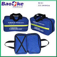 Insurance company customized car roadside emergency kits/Automobile emergency kit in carry bag