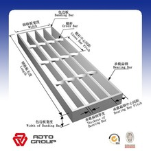 various specification steel grating panel
