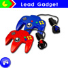 controller for n64 system For nint Controller for Nintendo N64 Wired PC controller for n64