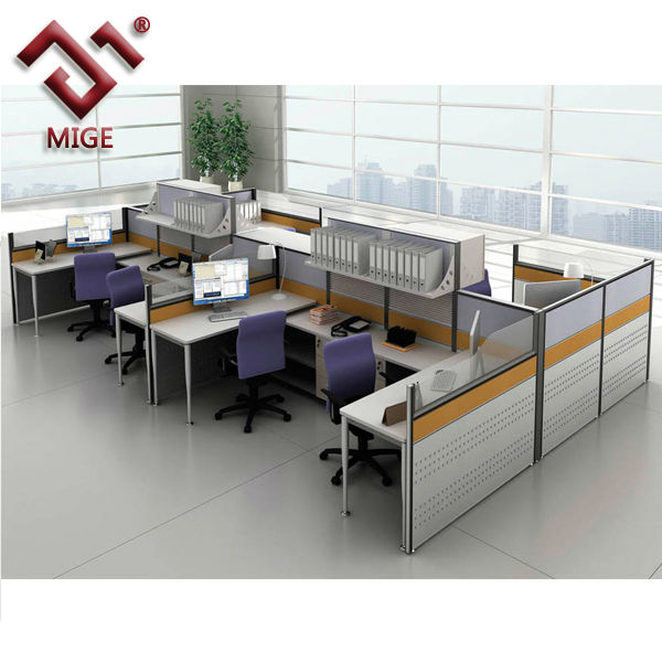 Modern_High_Wall_Cubicle_in_Office on Office Desk Cubicles Design