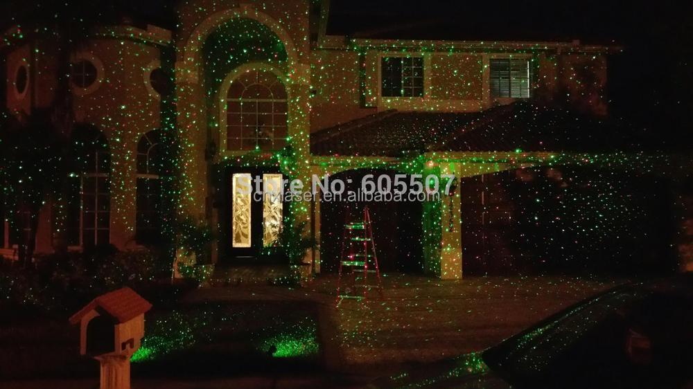 Lumi res de no l laser lumi re d corative ext rieure for Laser lumiere noel
