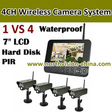 2.4G 4CH Digital wireless camera system, wireless security camera, wireless surveillance camera and dvr