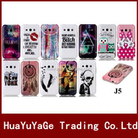 Luxury Colorful Pattern Soft TPU phone cases cover for Samsung Galaxy J1