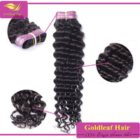Private label for buyer Real malaysian human hair Vrigin malaysian weave Wholesale deep wave hair
