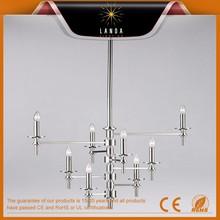 Design solutions international oiled bronze 8 Light Up Lighting Chandelier