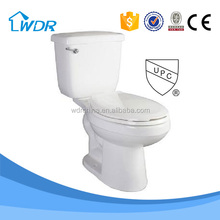 UPC North American Canada siphon 2 Piece Toilet