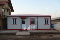 simple green prefab mobile home made in china