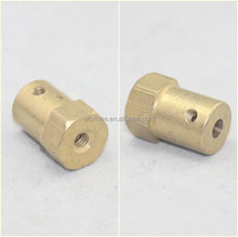 3/4/5/6 mm coupler/car wheel tyre/dc motor coupling/car/robot