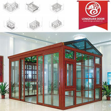Factoy Custom Sun Room with Quality Aluminum Frame and Glass, Fashion Winter Garden