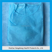 sterile disposable velcro surgical gowns with sleeves