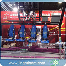 6DOF Electric Platform 5D Flying Cinema system for 4 Motion Seats
