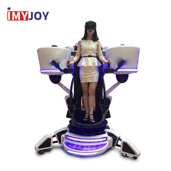 9d simulateur de vol tour + 3d de simulateur de mouvement standup vol vr