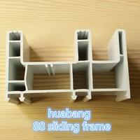 abs plastics making pvc roofing panel/pvc channel sliding door sash/pvc windows price