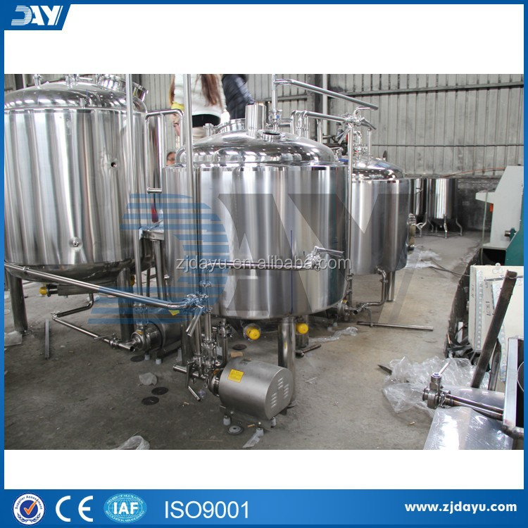 Electric Heating Brewing System Brewhouse For Beer 5bbl