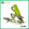 Kitchen tools of Stainless steel 5 blades herb scissors