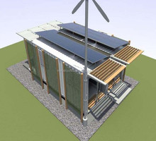 foldable container house for booth,light steel flat container house