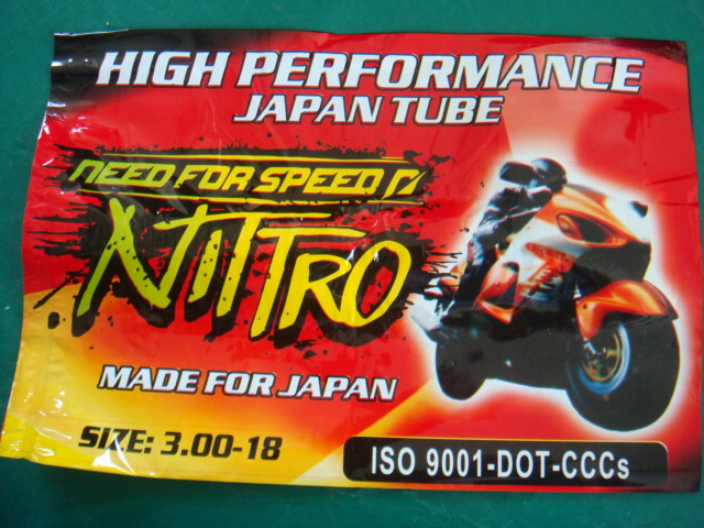China high quality motorcycle tube 3.00-18 hot sale in Venezuela (OWN FACTORY)