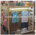 roupas de marca carrinho de exposição para a china de loja de roupas