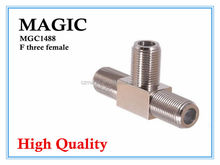 wholesale high quality F three female connectors