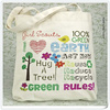 2014 new product hot sale washable and reusable cotton tote bag , printed plain handmade cotton canvas bag Cottn shopping bag