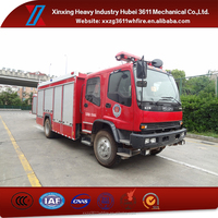 High Quality Factory Price Emergency Rescue Civil Qualifications Foam Tender Fire Fighting Truck