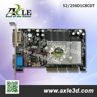 NVIDIA 52 256M DDR1 250/266MHz 128bits VGA card (BREEZE Edition)
