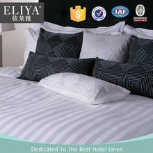 ELIYA fouse on the best white hotel bed sheet bedding set high quality
