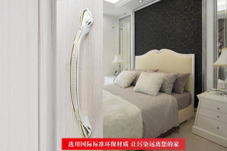 En céramique chambre accessoires armoire traction boutons hôtel meubles poignées