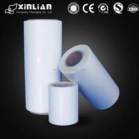 wholesale clear OPP plastic film rolls, laminated plastic roll film, plastic film roll
