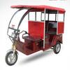 three wheel electric tricycle for Bangladesh passengers; battery rickshaw
