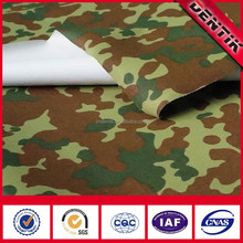 Waterproof Camouflage Military Fabric With Super Breathable And Windproof Function For Hunting Jacket
