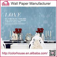 Guangzhou professional wallpaper manufacturer pvc wallcovering wholesale
