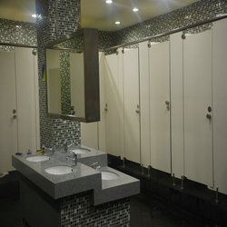 Hot selling public hpl toilet partition with high quality